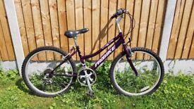 "Girls 24"" Probike Mountain Bike"