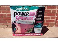 Cuprinol fence power sprayer