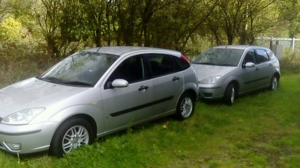 BREAKING Ford focus silver 1.6 petrol / 2.0 TDCI