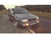 1996 VOLKSWAGEN GOLF 2.8 VR6 MK3 5 DOOR SUBTLE MODS CLEAN CAR 12 MONTHS MOT VERY RARE
