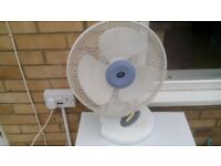 Electric fan in good condition and working order.