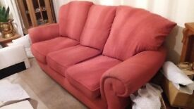 cloth 3 seater sofa