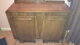 beautiful wooden sideboard