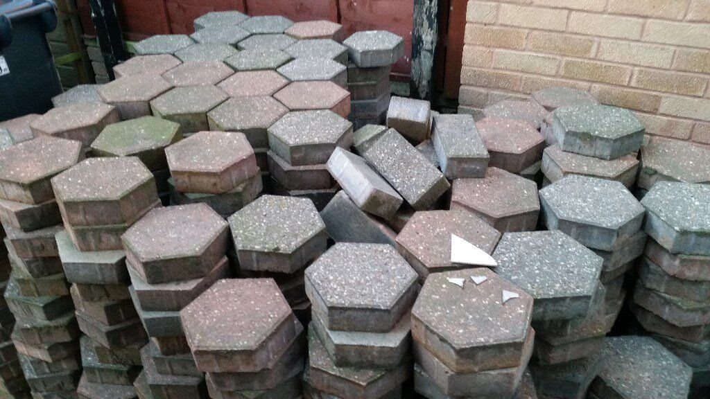 Hexagon Six Sided Block Paving In Rotherham South