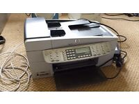 HP OfficeJet 6310 All-In- One --- Fax / Copier / Printer -- Spare cartridges included