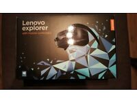 Brand new unopened, Lenovo VR Headset with Controllers.