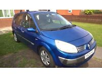 Renault Grand Scenic Dyn-ique 16V,2005,Petrol,7 seater.MOT untill January,2018.