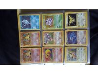Pokemon cards 1st edition & more