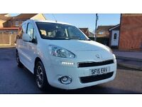 2015 (15) PEUGEOT PARTNER TEPEE TAXI 1.6 E HDI AUTO CAB DIRECT WHEELCHAIR ACCESS
