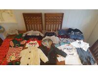 Baby boys clothes bundles 9-12 months
