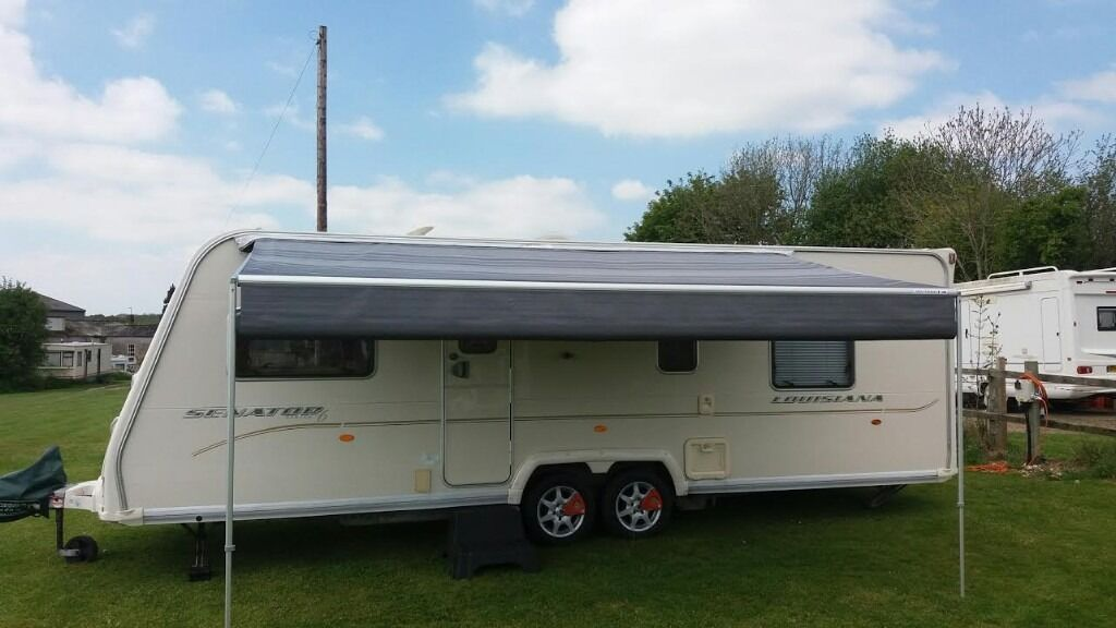 Caravan Awning Sun Canopy Roll Out Caravanstore Made By Fiamma 44m Nearly New