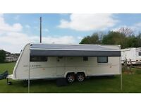 Caravan awning / sun canopy Roll out Caravanstore Awning Made by Fiamma 4.4m Nearly new.