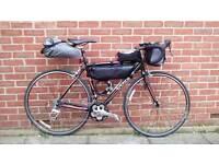 Cycling bicycle bike ride touring tour bikepacking camping