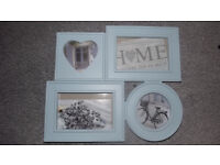Brand New Picture frame - Multi Aperture Photo Frame - Baby Blue