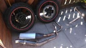 yamaha yzf 125 lots of spare parts