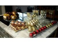 Mix of assorted baubles