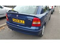 VAUXHALL ASTRA 1.4 LITRE,DRIVES VERY WELL,FULL SERVICE HISTORY,CHEAP INSURANCE AND PETROL,BARGAIN !!