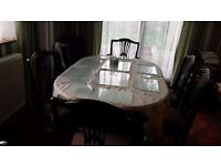 **Price Reduced ** 6 Seater Dining Table and Chairs