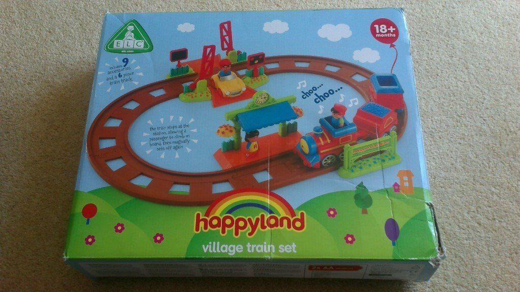 ELC Happyland Country Train Set & 2 Railway Track Extension Sets | in  Stroud, Gloucestershire | Gumtree