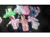 Baby Girls clothes 3-6 months (P.U.O)