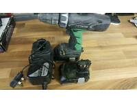hitachi screwdriver 18v