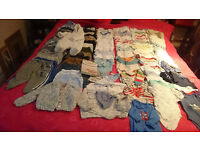 BABY BOY CLOTHES 100+ITEMS 0-3-6MONTHS SWAP FOR 9-18 MONTHS