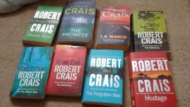 Robert Crais novels 15 paperbacks 1 Hardback
