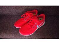 Nike Free Run 5.0 Red/Orange size uk 5.5