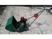 Old Quelcast Suffolk Punch Petrol Lawnmower