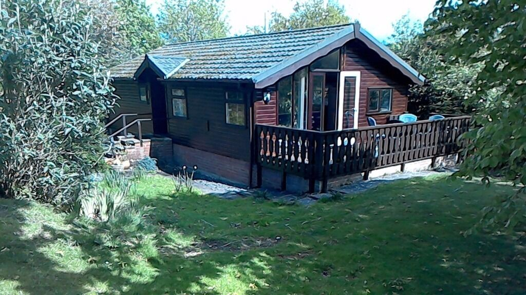 Lodge for sale at beautiful Brightwater Lakes, near Welshpool, Powys. Reduced for a quick sale.
