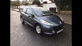 2007 Peugeot 207 1.4 ** Full MOT **