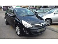 2012/12 VAUXHALL CORSA 1.2 SE 5 DOOR, GREAT ECONOMY+LOW INSURANCE, AIR CON+AUX/IPOD CONNECTION