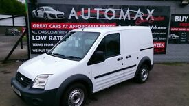 NO VAT VERY CLEAN 2012 FORD TRANSIT CONNECT T200 1.8 DIESEL WHITE ONLY 78K WITH F/S/H NOV 2017 MOT