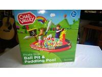 Paddling Pool Pirate Ship Brand New