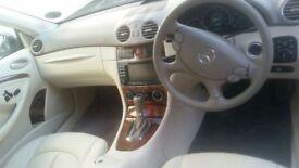 "Mercedes clk 320 cdi Elegance ( Best in uk ) ONLY ""23k miles !!!"