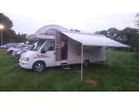 MOTORHOME FIAT DUCATO 2.8 JTD SWIFT LIFESTYLE 630L 6 BERTH END LOUNGE CAMPERVAN CARAVAN