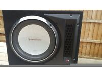 Rockford Fosgate Punch P1 cars subwoofer
