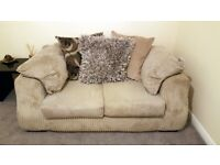 2 and 3 seater scs sofa inc stool