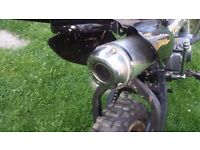 Pit bike. Lifan engine. 110cc. Spares or easy repairs