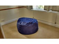 bean bag bed, compact and comfortable