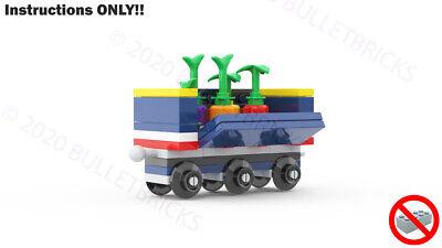 CUSTOM LEGO TRAIN MOC GONDOLA for the POLYBAG set #30575 INSTRUCTIONS