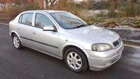 2005 Vauxhall Astra Enjoy 1.4 Petrol 5 Door 4 Month MOT Full Service History..