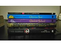 Chris Riddell - Goth Girl and Ottoline books for girls age 9-11