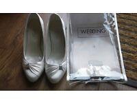 Size 5 bridal shoes
