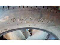 4 Mitchelin tyres - done 12,000 miles
