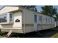 Willerby Bermuda 3 bed 12'x37' sited at Hutleys caravan park St Osyth near clacton on sea £9950