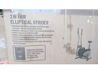 2 IN 1 AIR ELLIPTICAL STRIDER £40