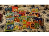Children's books and puzzles