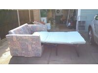 two seater sofa bed (double)