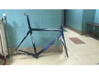 Ridley Damocles size large carbon frame